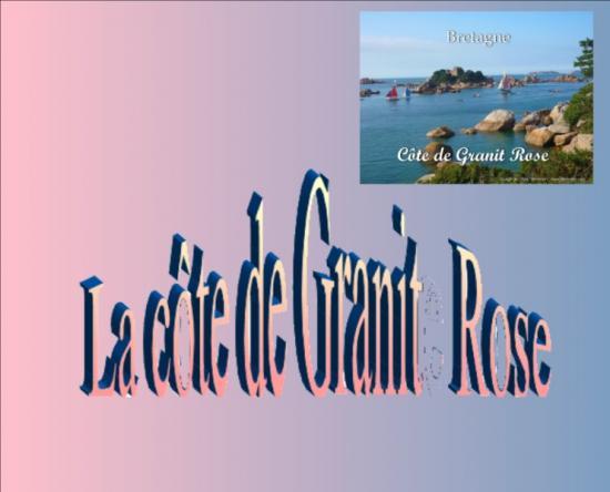 La cote de granit rose 1